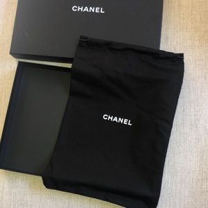 CHANEL Other - Authentic Chanel Dust Bag & Box